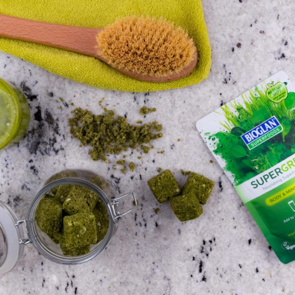Supergreens sugar scrub
