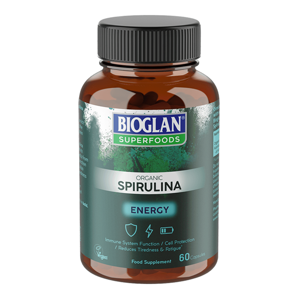 Superfoods Spirulina Capsules
