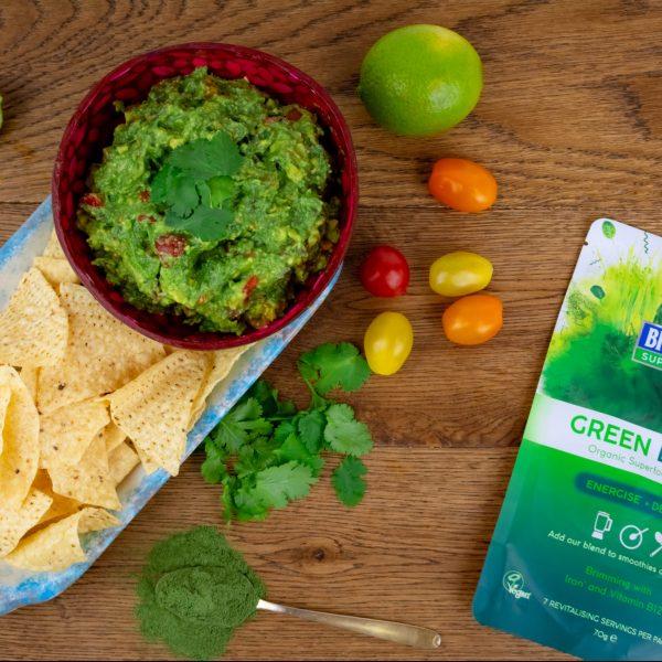 Greens Guacamole
