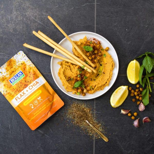 Flax & Chia Hummus