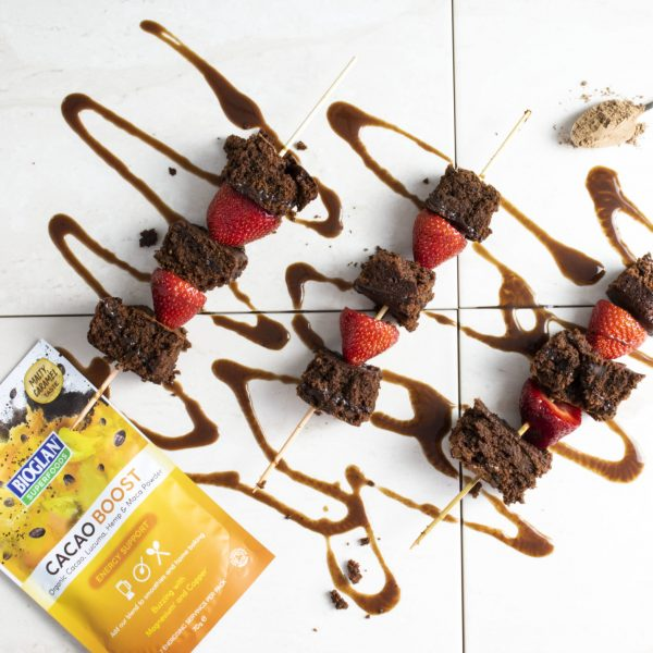 Vegan Brownie Skewers