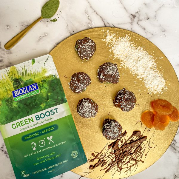 Chocolate Covered Superfood Truffles