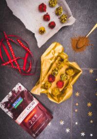 Cacao truffles web